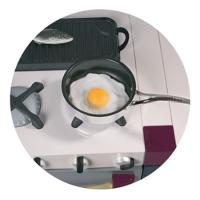 Кафе Радуга - иконка «кухня» в Каслах